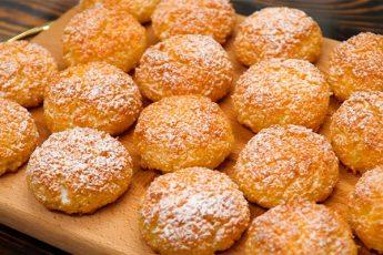 Восхитительное кокосовое печенье: всего 3 ингредиента