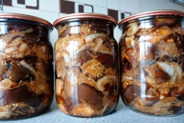Вкуснейшие баклажаны на зиму!