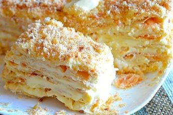 «Прага», «Наполеон» и «Медовик»: три самых вкусных торта