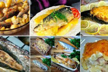 Подборка вкуснейших блюд из скумбрии