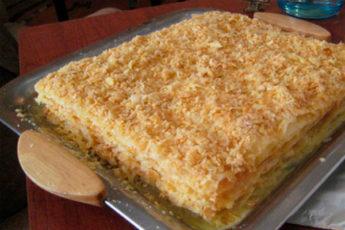 Торт «Наполеон» с заварным кремом: восторг гарантирован