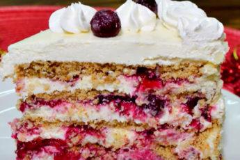 Очень вкусный торт без выпечки, печенья и муки!