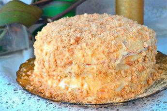 """Классный торт """"Пломбир"""" – и никакая духовка не нужна"""