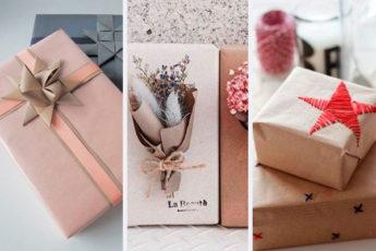 30 необычный и креативных идей оформления подарков