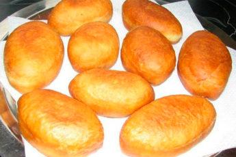 Пышные и вкусные жареные пирожки из лучшего теста
