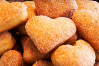 Сладкое домашнее печенье