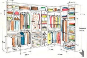 Как правильно спланировать удобнейший шкаф мечты