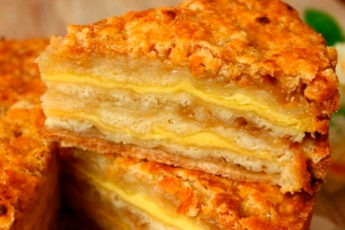 Шедевральный яблочный пирог «Три стакана». Мои домашние его просто обожают!