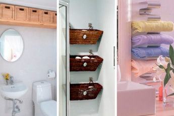 Креативные идеи организации хранения в небольшой ванной комнате