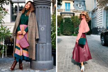 Длинные юбки: 12 моделей, которые позволят выглядеть максимально стильно в 2021 году