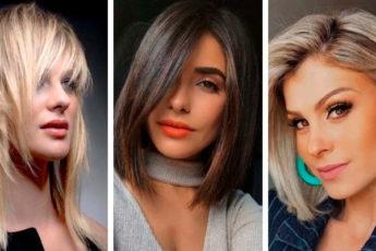 Стрижки на средние волосы придающие объем: 50 фото