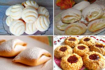 Домашнее печенье: 4 простых рецепта