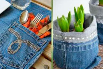 Что еще можно сделать из старых джинсов: 20+ креативных идей