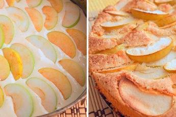 Самый вкусный и ароматный яблочный пирог