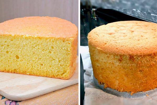 Идеальный рецепт классического бисквита: пышный и мягкий