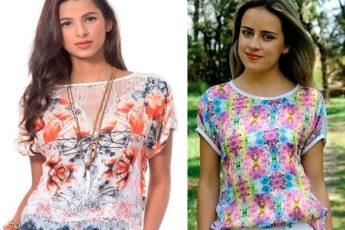 Моделирование блузок