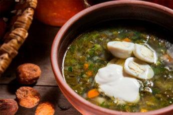 Щавелевый суп — супчик, который всегда радует всю мою семью