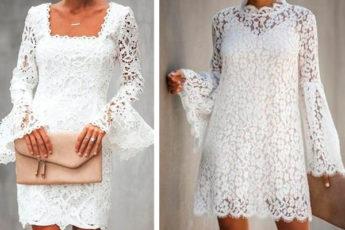 Летние кружевные платья: идеи для романтических прогулок