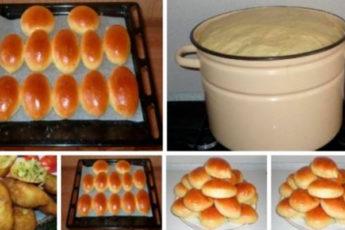 Домашнее тесто для пирожков