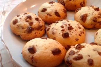 Как испечь мягкое и вкусное печенье с шоколадной крошкой