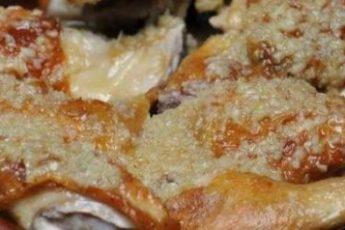 Рачинский шкмерули — очень вкусное и востребованное во всех ресторанах грузинское блюдо из курицы