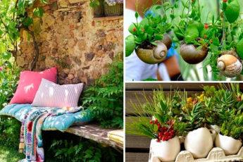 Идеи мини сада — живой уголок природы, куда вы можете сбежать ото всех