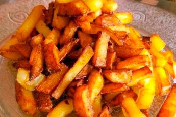 Почему моя жареная картошка намного вкуснее чем у других. Рассказываю свой секрет жарки, который знают единицы