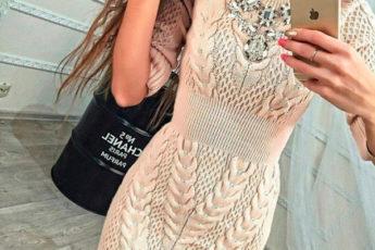 Простые узоры для шикарного платья
