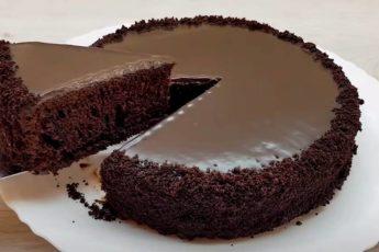 Бесподобное шоколадное лакомство. Нежный шоколадный торт «Брауни»