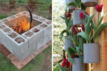 Идеи для дачи: 55 полезностей, которые точно пригодятся на вашем садовом участке