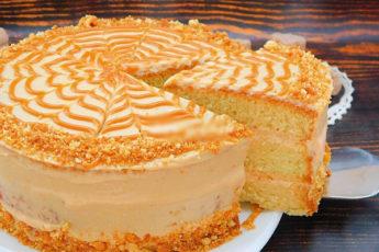 Торт «Золотой ключик». Простой рецепт вкусного торта из советских времен