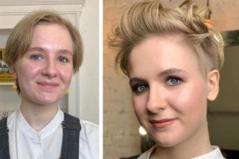 20 работ от парикмахера, который при помощи короткой стрижки делает из женщин стильных штучек