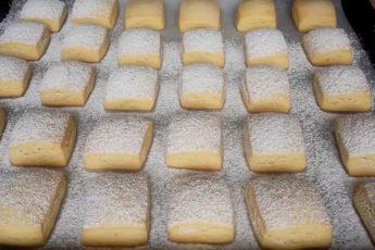 Вкусное и нежное печенье на сметане
