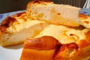 Берем 0,5 кг творога, 5 ст.л муки, 3 яйца, 5 ст.л. сметаны для самой вкусной в мире ватрушки