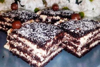 Торт «Арабские сказки» с необычным манным кремом