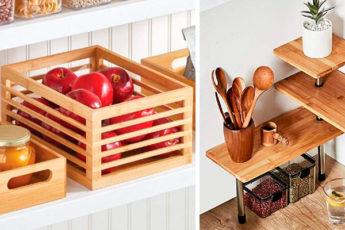 27 простых идей по организации пространства, которые помогут сэкономить место и избавиться от беспорядка на кухне