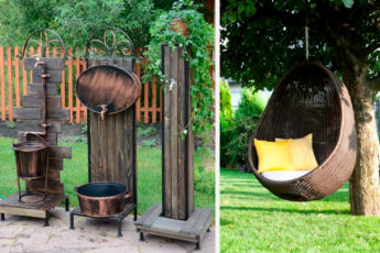 10 вариантов мебели для безмятежного отдыха в саду и дворе