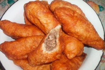 Пирожки с мясом «Те самые, советские» + секрет сочной начинки
