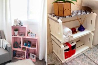 Пристройте деревянные ящики на даче: 16 нетривиальных и практичных идей