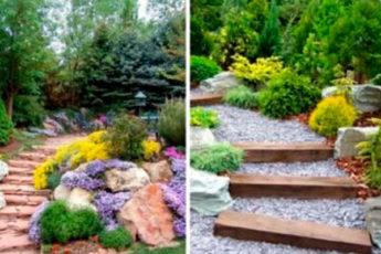 Альпийская горка в саду: 33 восхитительных идеи