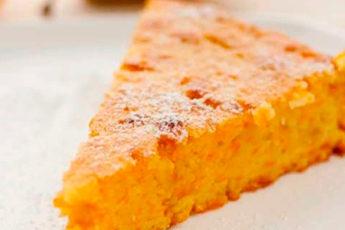 Воздушный пирог с тыквой «Осенний»
