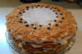 Воздушный, вкусный и простой в приготовлении тортик «Рыжик»
