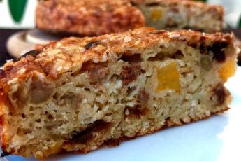 Пирог из овсянки на завтрак: без муки и сахара. Вкусно, полезно и просто!