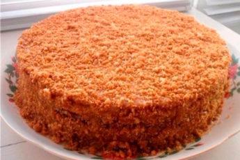 Вкуснейший торт на сгущенке. Просто и быстро