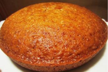 Быстрый медовый пирог