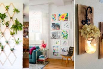 Если в доме есть свободная стена, то у нас есть оригинальные идеи для её оформления