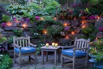 Шестьдесят крутых идей дизайна двора в частном доме