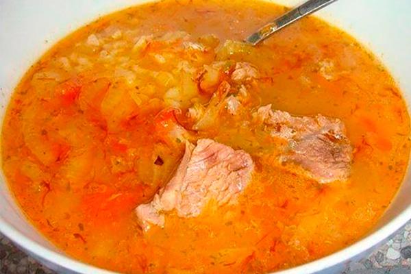 Густой и ароматный грузинский суп «Харчо». Что может быть вкуснее!