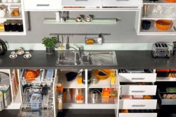 Все на своих местах: 28 классных идей хранения на кухне