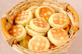 Быстрое печенье на сковороде с нежным вкусом